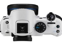 Samsung NX10 Limited White Edition top
