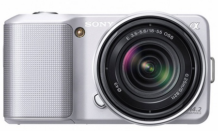Sony NEX-3 Ultra-Compact DSLRs with interchangeable lenses Silver