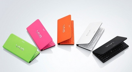 Sony VAIO P Series gets updated, adds trackpad and accelerometer colors