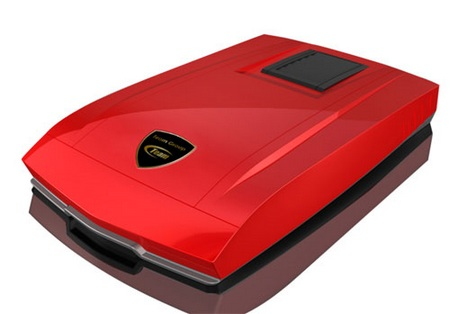 TEAM TP1023 Mobile Hard Drive with Sports-car-grade shock-resistance