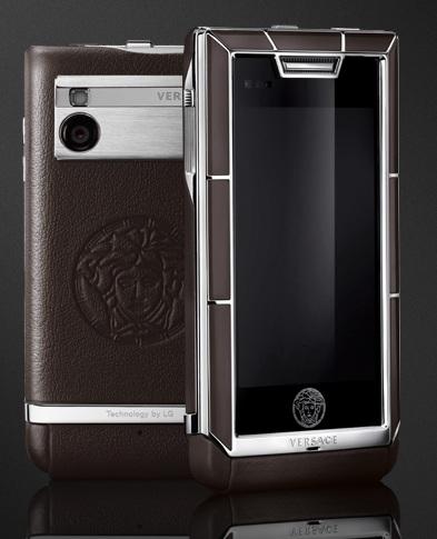 Versace Unique Luxury Phone brown