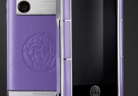 Versace Unique Luxury Phone purple
