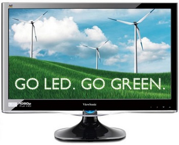 ViewSonic ViewLED VX2250wm-LED Full HD Display
