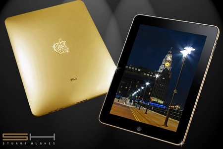 iPad SUPREME GOLD Edition gets Solid Gold and Diamonds