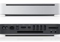 Apple Mac mini gets a all-new Unibody Design front back