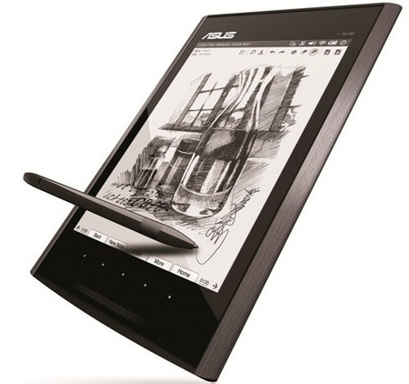 Asus Eee Tablet combines Notepad and E-Reader