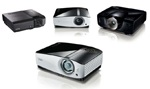 BenQ MP780 ST, MP778, SP840, and SP890 Projectors for Education