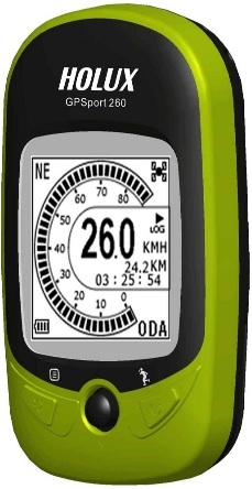 Holux GPSport 260 Handheld GPS Device