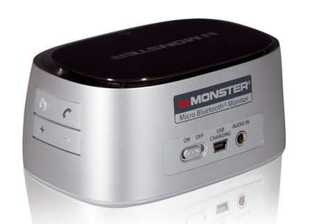 Monster iClarity HD Micro Bluetooth Speaker back