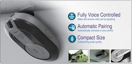 Moshi Voice Control Bluetooth Handsfree Car Kit