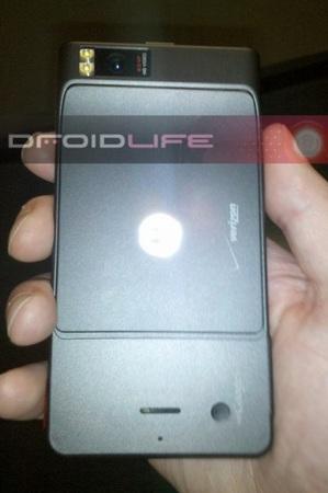 Motorola Droid Extreme Droid X leaked shot back