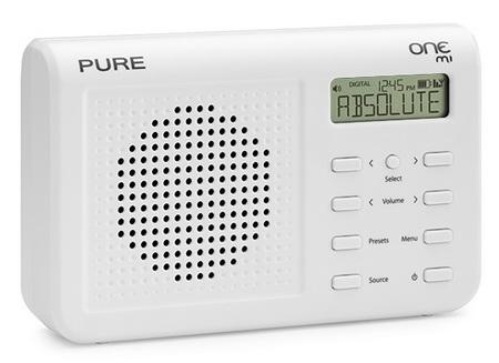 PURE ONE Mi Portable Digital Radio white