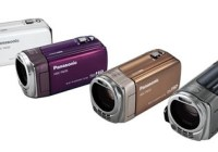 Panasonic HDC-TM35 - The Lightest AVCHD Camcorder colors
