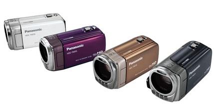 Panasonic HDC-TM35 - The Lightest AVCHD Camcorder colors