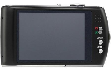 Panasonic LUMIX DMC-FX75 Camera with AVCHD Lite Support back