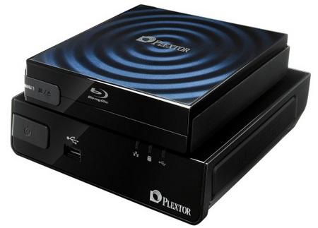 Plextor PlexMedia Networked Media Player and PX-B120U Blu-ray Drive