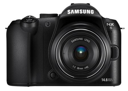 Samsung NX5 Digital Camera front