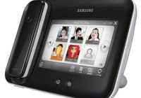 Samsung SP-M100 combines Cordless Phone and Digital Frame black