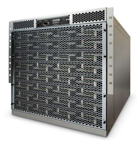 SeaMicro SM10000 Server with 512 Atom CPUs