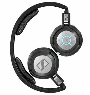 Sennheiser PX210 BT Bluetooth Headphones folded