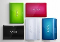 Sony VAIO EA and EC Series Colorful Notebooks