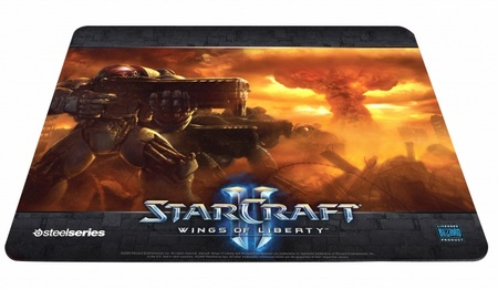 SteelSeries QcK Limited Edition StarCraft II Marine mouse pad