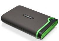 Transcend StoreJet 25M3 USB 3.0 Shockproof Portable Hard Drive