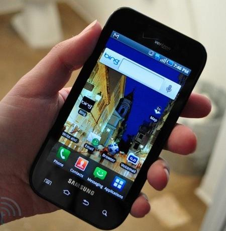 Verizon Samsung Fascinate Galaxy S Smartphone
