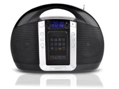 Lenco iPD-5200 Portable Radio with iPod dock