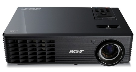 Acer X1261 and X1130P 3D-Ready Projectors
