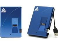Apricorn Aegis Bio Biometrically Secure Encrypted Hard Drive
