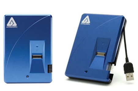 Apricorn Aegis Bio Biometrically Secure Encrypted Hard Drive