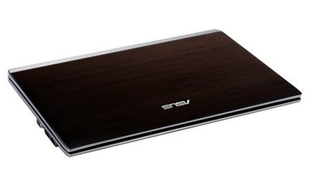 Asus Bamboo U33Jc and U53Jc Notebooks folded flat