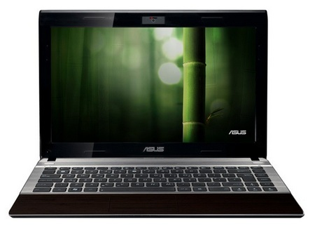 Asus Bamboo U33Jc and U53Jc Notebooks front