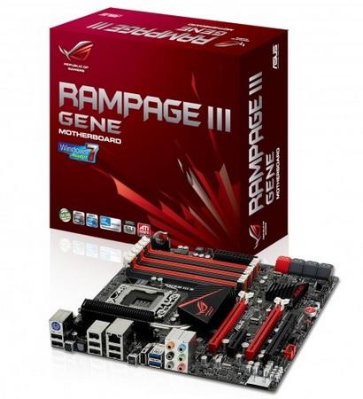 Asus ROG Rampage III GENE microATX Motherboard