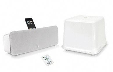 Boston Acoustics i-DS3 plus iPhone iPod Speaker System white