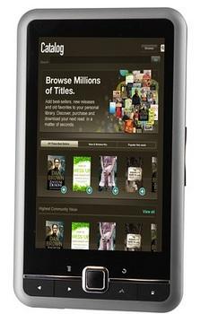 Copia Ocean Reader 5-inch e-book reader
