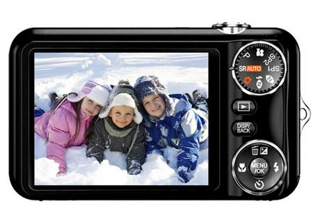 FujiFilm FinePix JX280 Digital Camera back