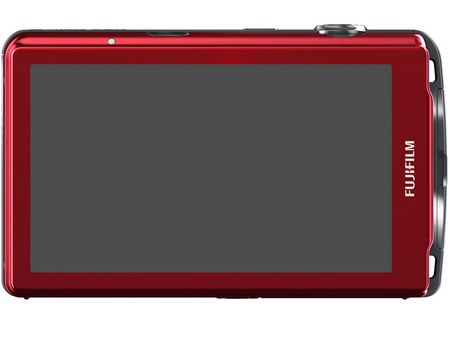 FujiFilm FinePix Z800EXR Touchscreen Camera back