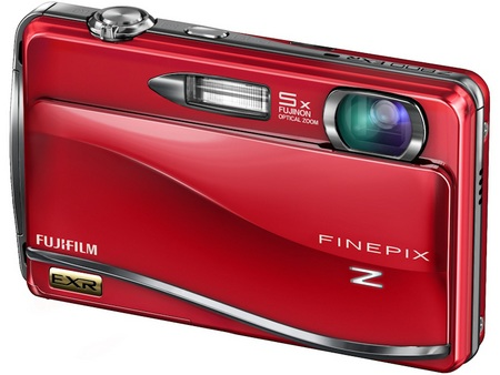 FujiFilm FinePix Z800EXR Touchscreen Camera red