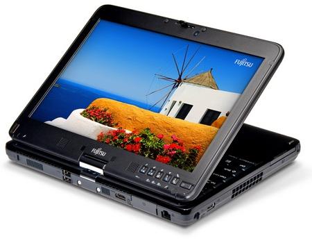 Fujitsu Lifebook TH700 Tablet PC folded
