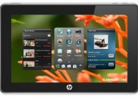HP PalmPad with dual-mode multitouch display