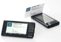 King Jim Pitrec DNH10 Business Card Digitizer