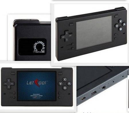 Letcool 350JP Portable Gaming Device Media Player