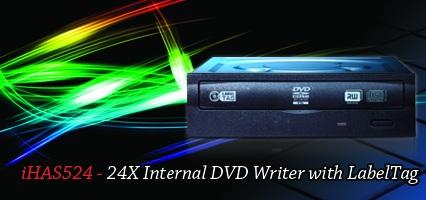 Lite-On iHAS524 24X Internal DVD Burner