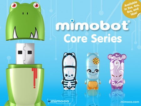 Mimoco MIMOBOT Core Series USB Flash Drive