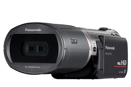 Panasonic HDC-SDT750 3D Consumer Camcorder front