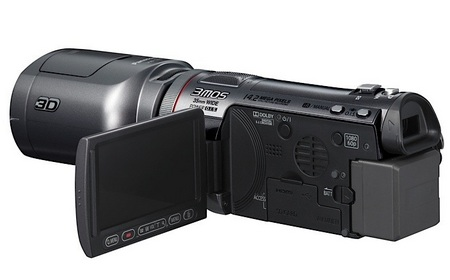 Panasonic HDC-SDT750 3D Consumer Camcorder screen