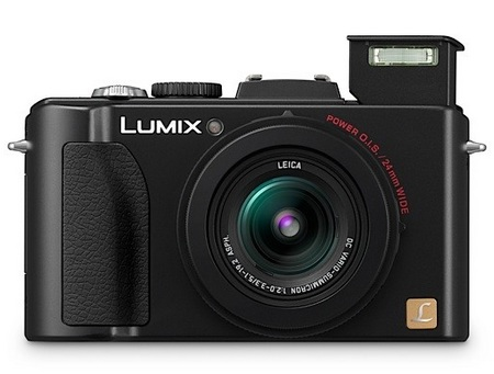 Panasonic Lumix DMC-LX5 Digital Camera flash