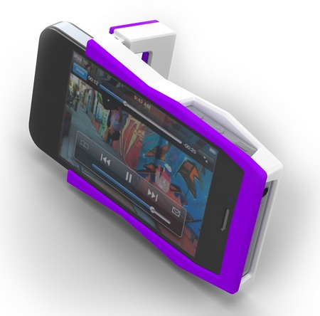 Quirky Tilt iPhone 4 Case Doubles as a stand 1